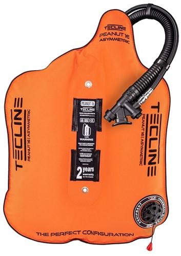 Tecline Peanut 16 Orange (16kg/35lbs) for mono tank - weight 0,85 kg