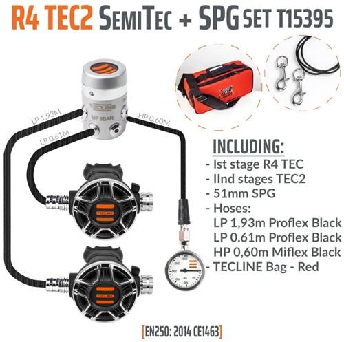 Tecline R4 / Tec2 SemiTec I Automatenset