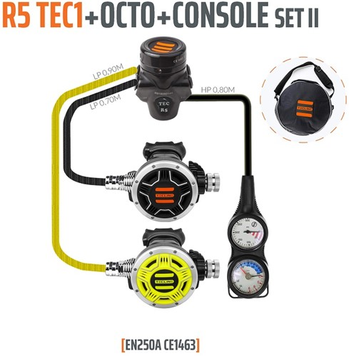 Tecline Regulator R5 TEC1 set II with octo and 2 elements console - EN250A