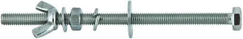 Tecline Stalen Bout Voor Dubbelsetbanden 140mm