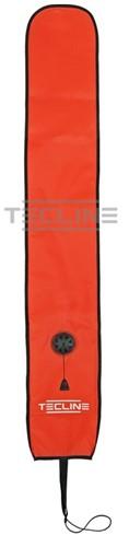 Tecline Semi-Gesloten Boei 22 /135cm Met Ontluchtingsventiel Oranje