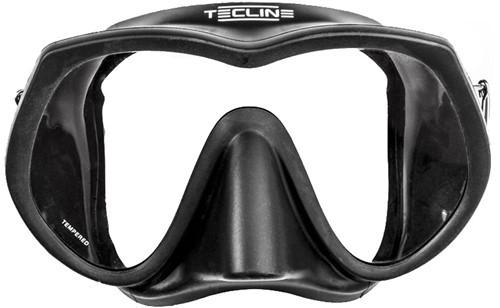 TecLine Frameless Super View mask, black