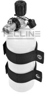 Tecline Aluminium Fles 1,5L Luxfer + 1e Trap Met Overdrukventiel