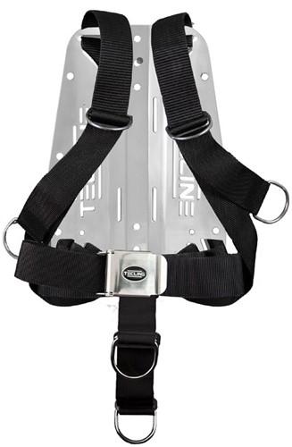 Tecline Comfort Eco Harnas Met Standaard Webbing + 3mm Aluminium Backplate