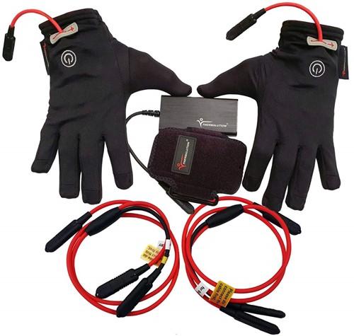 Thermalution Verwarmde Onderhandschoenen Set Met Batterijen