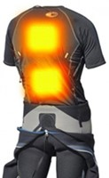 Thermalution Red grade PLUS  rechargable Thermal body suit,Wireless 100M XL-2