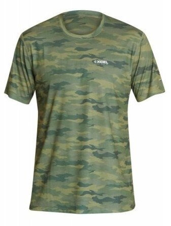 Xcel ThreadX Hawaii S/S - Camo - S