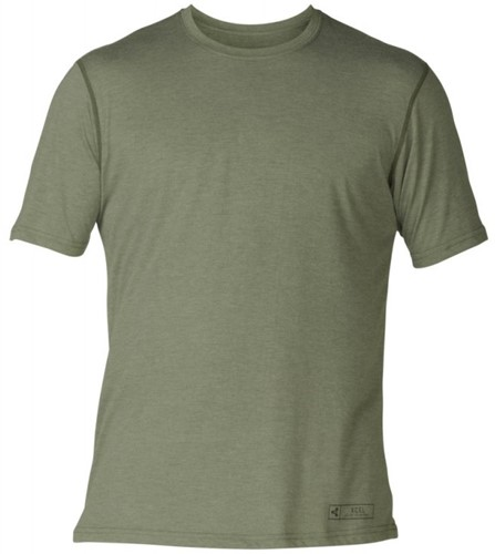 Xcel ThreadX Solid S/S - Olive - XL