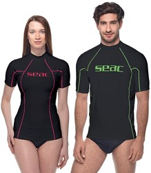 Seac Rash Guard T-Sun Short Black