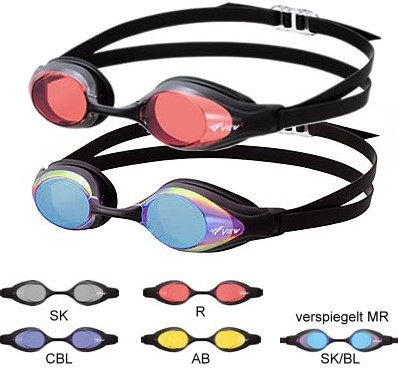Tusa V130Mr Sk/Bl Shinari zwembril-2