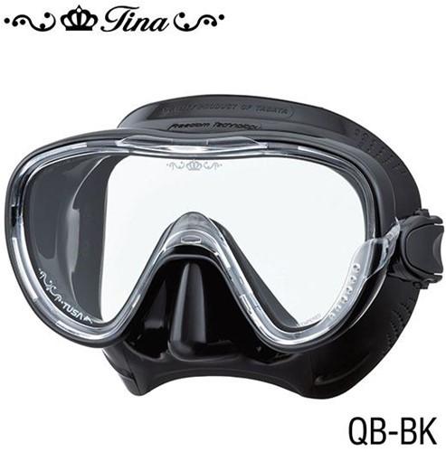 Tusa M1002Qb Bk Tina duikbril