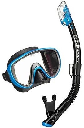 Tusa Uc-1625Qb FB Mask & Snorkel Set