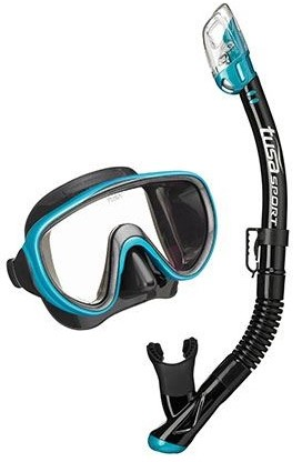 Tusa Uc-1625Qb OG Mask & Snorkel Set