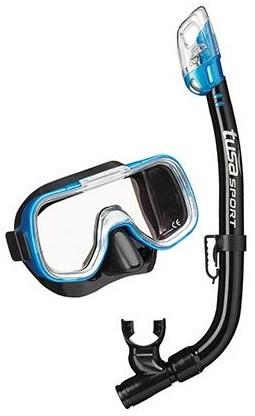 Tusa Uc-2022 Bk/Fb Mask & Snorkel Set