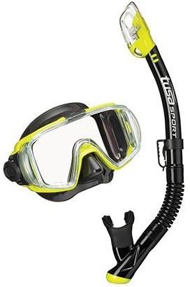 Tusa Uc-3125Qb FY Mask & Snorkel Set
