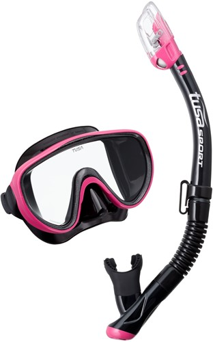 Tusa Uc-1625Qb Hp Mask & Snorkel Set
