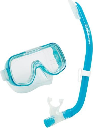 Tusa Uc-2014 turqoise Mask & Snorkel Set