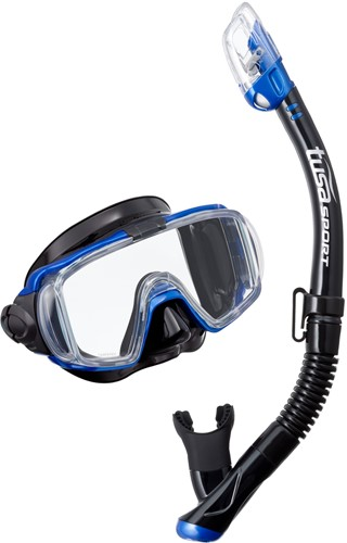 Tusa Uc-3125Qb Mb Mask & Snorkel Set