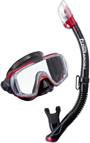 Tusa Uc-3125Qb Mdr Mask & Snorkel Set