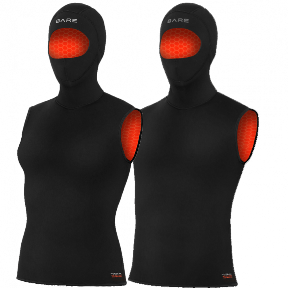 Bare Ultrawarmth Hooded 5mm Vest