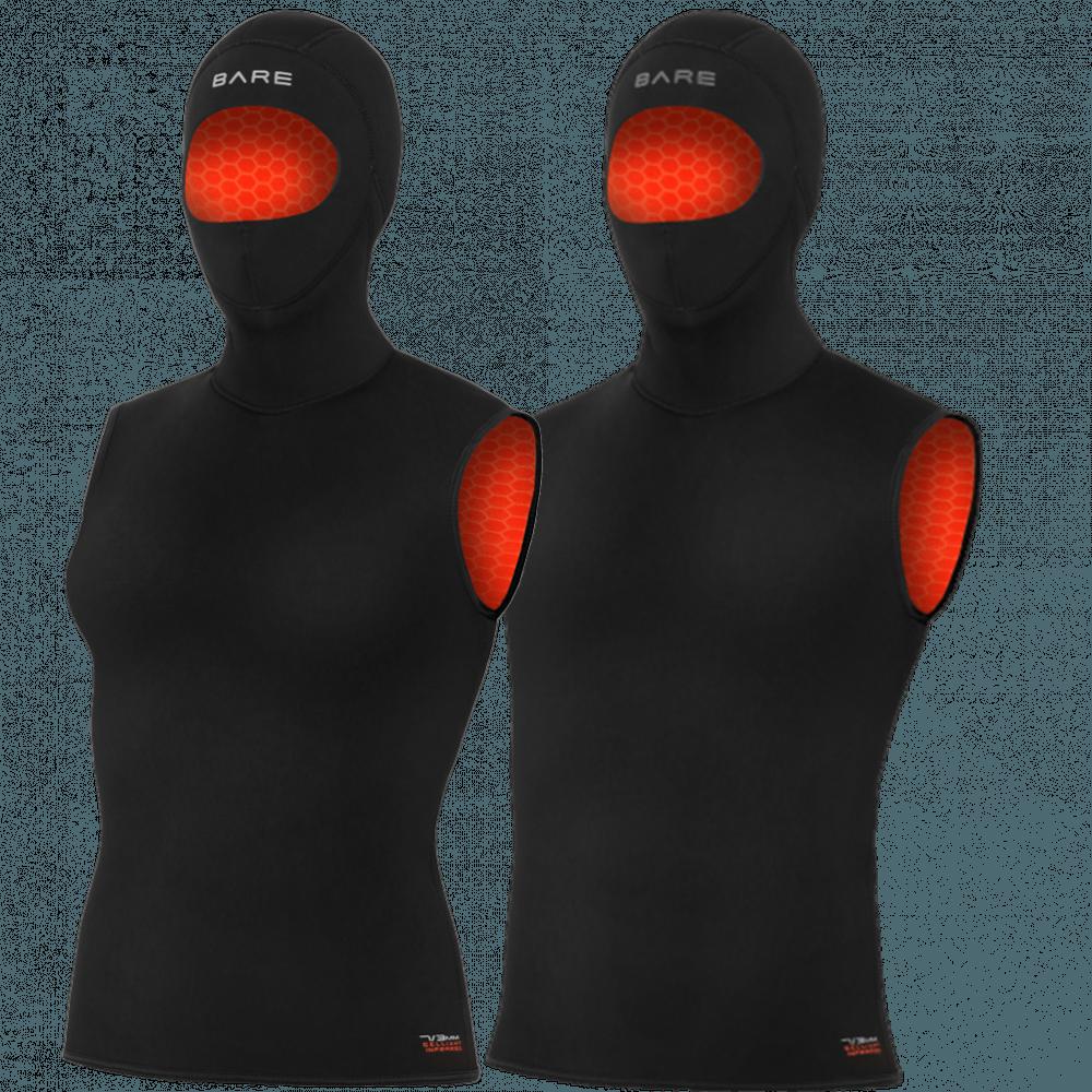 Bare Ultrawarmth Hooded 5mm Vest