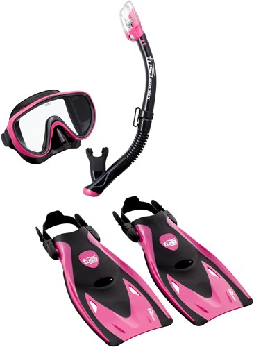 Tusa Up-1521Qb Hp M Mask, Snorkel, Fin  Set