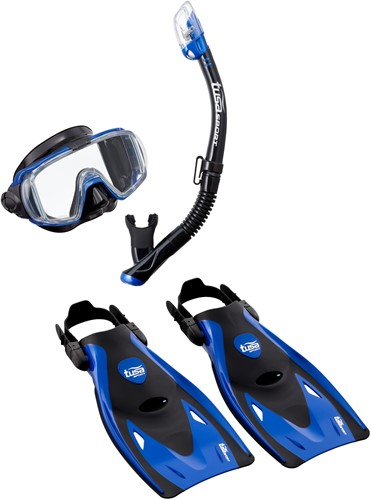 Tusa Up-3521Qb Mb M Mask, Snorkel, Fin  Set