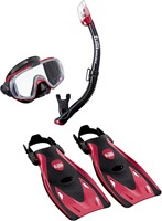 Tusa Up-3521Qb Mdr L Mask, Snorkel, Fin  Set
