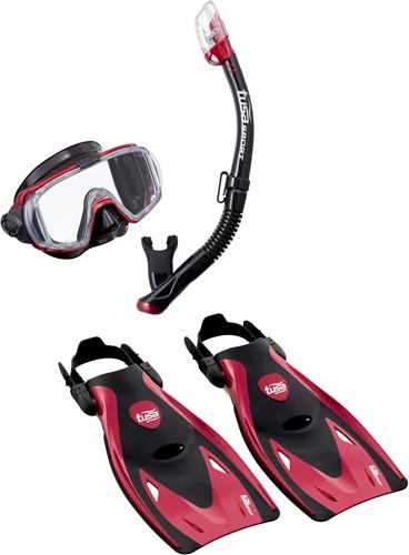 Tusa Up-3521Qb Mdr M Mask, Snorkel, Fin  Set