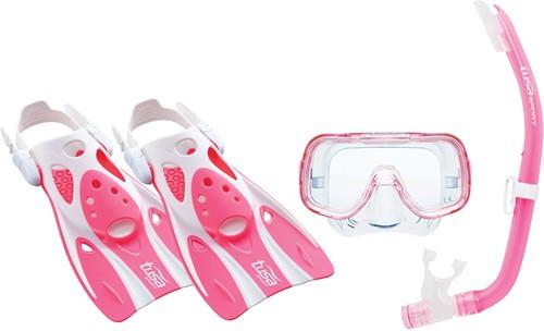 Tusa Up-0201 P M Mask, Snorkel, Fin  Set