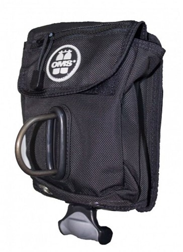 OMS Accessoire Pocket Met Verticaal Loodsysteem En Afneembare D-Ring (6lbs / 2,7kg)