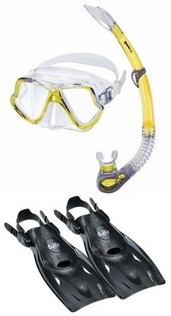 Mares Wahoo Multiflex Snorkelling Set