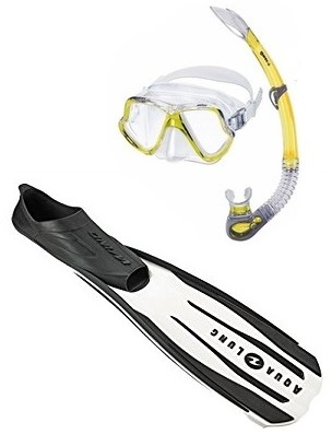 Mares Wahoo Wind Snorkelling Set