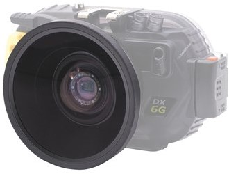 Sea & Sea Wide Conversion Lens Wcl06 Ss (Bayonet) Voor DX-6G