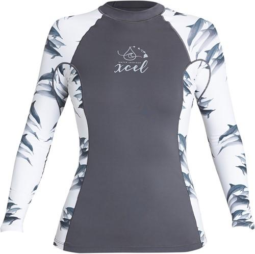 Xcel OR L/S w/ Key Pocket - Dolphin - L