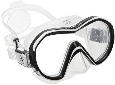 ede06be17b2302 Aqualung Reveal X1 TS White Arctic duikbril bij SubLub