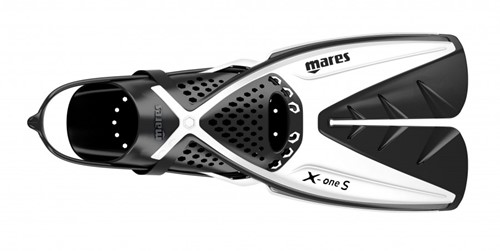 Mares X-One S Wh Ml Sa Snorkelvinnen