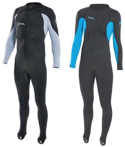 Xcel Mens Lycra Jumpsuit - Grey - M
