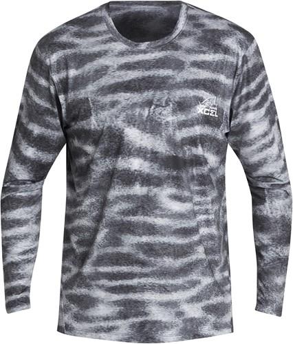 Xcel Rashguard VentX Tiger Shark Man UPF25 Long Sleeve