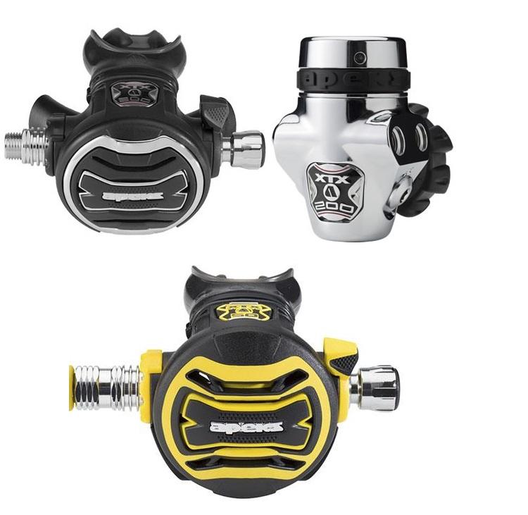 Apeks FSR / XTX200 / XTX50 Octopus Automatenset