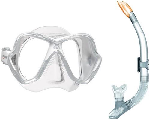 Mares X-vision Splash snorkelset