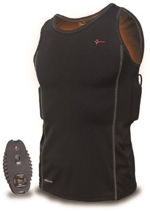 Thermalution Yellow grade 2.0 Thermal vest (Wireless Top) S