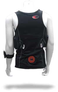 Thermalution Yellow grade PLUS rechargable Thermal vest (Wireless Top) S-2