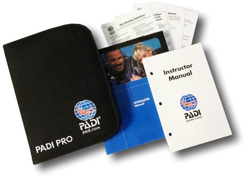 PADI Pack - DM Manual, Slates & Instructor Manual (German)