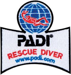 PADI Emblem - Rescue Diver